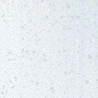 Colours Earthstone Matt Stone effect White Worktop edging strip, (L)800mm