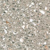 Cooke & Lewis Permian Beige Gemstone effect Solid resin Splashback, (H)450mm (T)6mm
