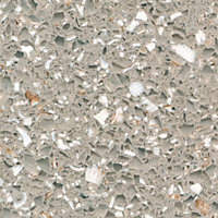 Cooke & Lewis Permian Beige Gemstone effect Solid resin Hob splashback, (H)610mm (T)6mm