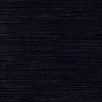 Designer Black Worktop edging tape, (L)3m
