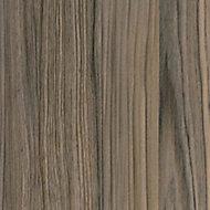 Cypress Cinnamon Wood effect Worktop edging tape, (L)3000mm
