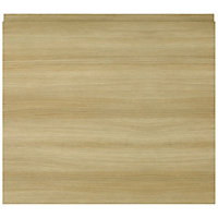IT Kitchens Marletti Oak Effect Oven housing Cabinet door (W)600mm