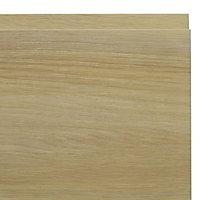 IT Kitchens Marletti Oak Effect Oven housing Cabinet door (W)600mm