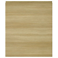 IT Kitchens Marletti Oak Effect Standard Cabinet door (W)600mm