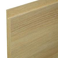 IT Kitchens Oak Effect Standard Cabinet door (W)600mm