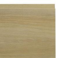 IT Kitchens Marletti Oak Effect Bridging door & pan drawer front, (W)1000mm