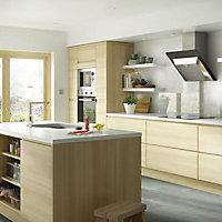 IT Kitchens Oak Style Post, (W)32mm (H)715mm