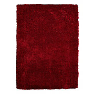 Colours Luino Red Rug (L)1.6m (W)1.2m
