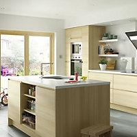 IT Kitchens Marletti Oak Effect Panel, (W)16mm