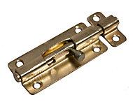 Blooma Brass plated Steel Barrel bolt (L)102mm