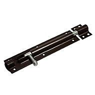 Blooma Brown Steel Barrel Door bolt (L)152mm