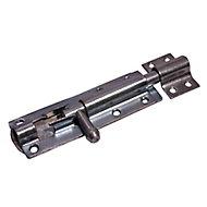 Blooma Zinc-plated Barrel Steel Gate bolt, (L)102mm