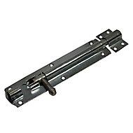 Blooma Zinc-plated Barrel Steel Gate bolt, (L)152mm