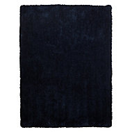 Colours Oriana Navy blue Rug (L)1.7m (W)1.2m