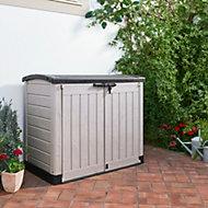 Store it out arc Plastic Garden storage box