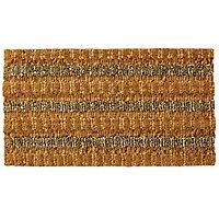 Colours Natural Coir, seagrass & jute Door mat (L)0.7m (W)0.4m