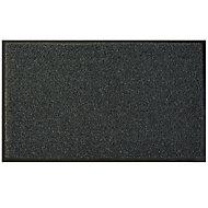 Diall Dark grey Recycled fibres Door mat (L)0.75m (W)0.45m