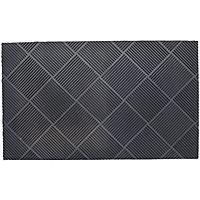 B&Q Grey Rubber Door mat (L)450mm (W)750mm