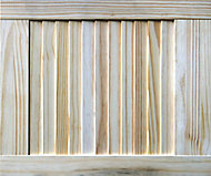 Pine LH & RH Internal Louvre Door, (H)457mm (W)381mm