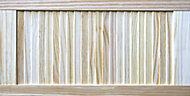 Pine LH & RH Internal Louvre Door, (H)762mm (W)381mm