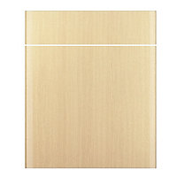 IT Kitchens Sandford Textured Oak Effect Slab Drawerline door & drawer front, (W)600mm