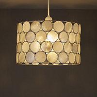 Colours Gilort Natural Circles Light shade (D)290mm