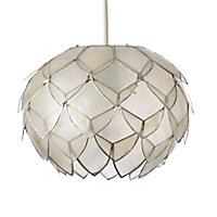 Colours Elvira Natural Artichoke Light shade (D)200mm