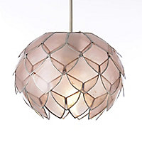 Colours Elvira Pink Artichoke Light shade (D)200mm