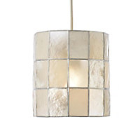 Colours Cabriole Natural Cylinder Light shade (D)160mm