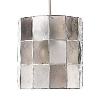 Colours Cabriole Grey Cylinder Light shade (D)160mm