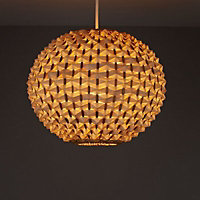 Colours Bolsena Beige Hedgehog Light shade (D)300mm
