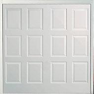 Dakota Made to measure Framed White Retractable Garage door