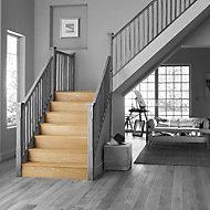 Stair Klad Oak veneer Stair flooring tread riser kit, Pack of 3