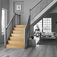 Geom Stair Klad Oak veneer Extension board