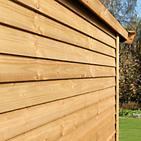Spruce Cladding (W)150mm (T)11mm, Pack