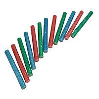 Mac Allister Precision Glitter glue stick, Pack of 12