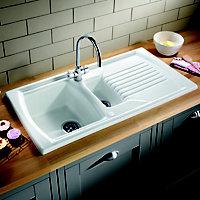 Blanco 1.5 Bowl Kitchen sink & tap set