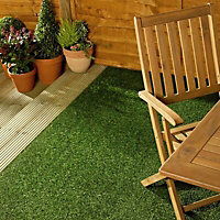 Marlow Medium density Artificial grass 6m² (T)19mm