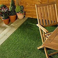 Marlow Medium density Artificial grass 8m² (T)19mm