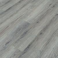 Colours Bodrum Grey Wood effect Laminate flooring, 2.13m², Sample