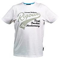 Rigour White T-shirt Medium