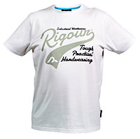 Rigour White T-shirt X Large