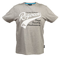 Rigour Grey T-shirt Medium