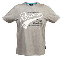 Rigour Grey T-shirt X Large