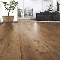 Ostend Natural Oxford oak effect Laminate Laminate flooring