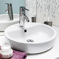 Nicolina White Vanity unit & basin set