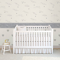 Baby Colours Little wish Mica effect Wallpaper