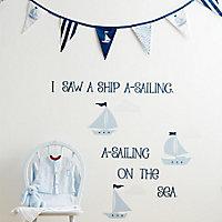 Little sailor Bunting, (L)3.05m