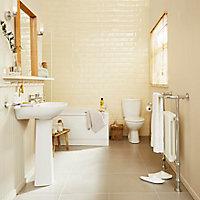 Plumbsure Truro Toilet, basin & tap pack