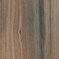 38mm Colorado oak Wood effect Laminate Round edge Kitchen Breakfast bar Worktop, (L)2000mm